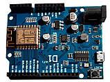 Модуль UNO R3 ESP8266 WiFi shield ESP-12E WeMos D1. Плата Arduino со встроенным WIFI модулем, фото 2