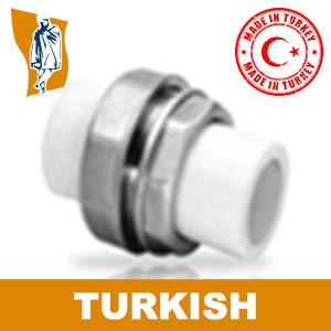 Муфта разборная Turkish Ø 25