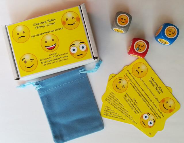 «Эмоджи Кубс» (Emoji Cubes) арт-терапевтические кубики