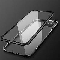 Магнитный чехол iCase для iPhone 7 8 Black HbP050516, КОД: 1356189