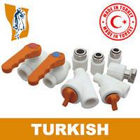 Набор,подключающийКотел угловой Turkish Ø 10