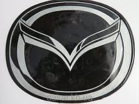 Антискользящий силиконовый коврик на торпедо с логотипом Mazda