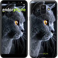 Силиконовый чехол Endorphone на Samsung Galaxy A6 2018 Красивый кот 3038u-1480-26985, КОД: 1390933