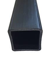 Труба полэтиленовая PE, квадратная, 50мм x 50мм, стенка 4мм, длина 5м