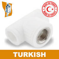 Тройник В/р Turkish Ø 20-1/2`