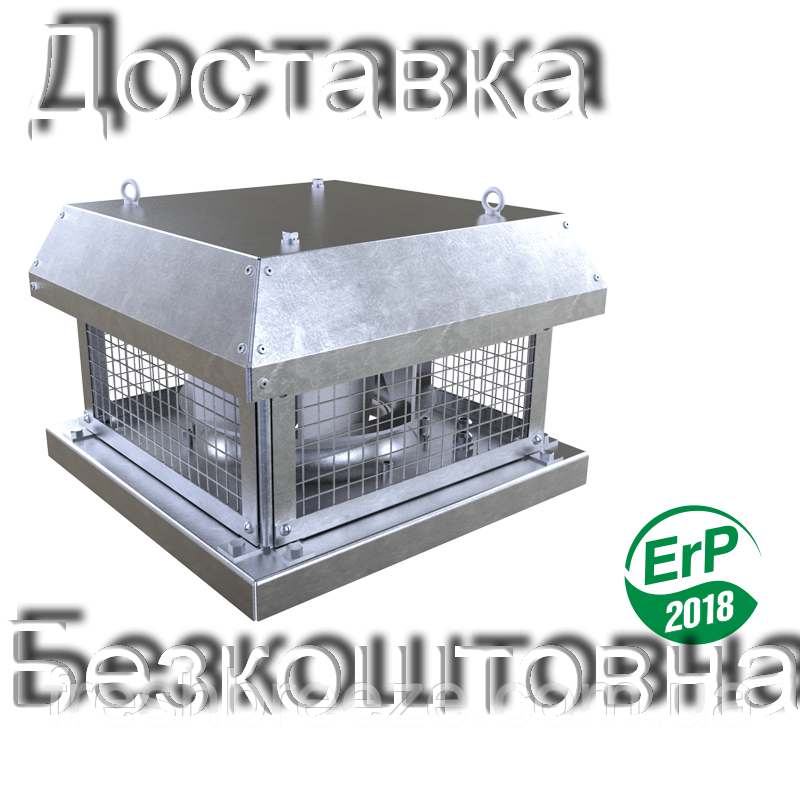 Відцентровий даховий вентилятор з ЄС-двигуном ВЕНТС ВКГ 280 ЄС