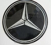 Антискользящий силиконовый коврик на торпедо с логотипом Mercedes