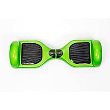 Гироcкутер Smart Balance 6.5 Зеленый (Green) TaoTao APP. Гироборд Про зелений. Автобаланс, фото 3