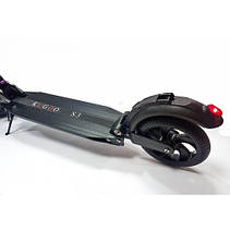 Электросамокат Kugoo S3 Jilong Черный (Black). Електросамокат Куго С3 чорний Оригинал Джилонг, фото 2