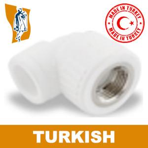 Угол В/р Turkish Ø 32- 3/4`