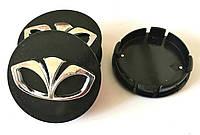 Колпачки в диски Daewoo (60/55мм,объемные)