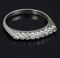 Женское кольцо из белого золота с бриллиантами С40Л1№18