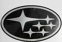 Антискользящий силиконовый коврик на торпедо с логотипом Subaru