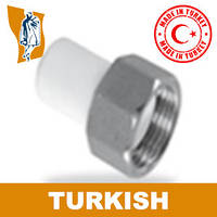 Штуцер В/р накГайка Turkish Ø 25-1`
