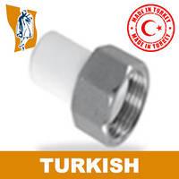 Штуцер Н/р накГайка Turkish Ø 25-1`