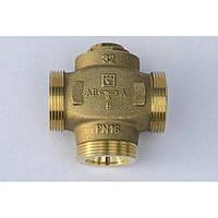 HERZ-TEPLOMIX DN 32 трехходовой термосмесительный клапан с отключаемым байпасом Код: 1776614
