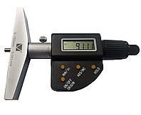 Глубиномер микрометрический цифровой ГМЦ-150 (0-150 мм; 0,001 мм; ±0,006 мм) Микротех