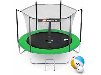 Батут с внутренней защитной сеткой Hop-Sport