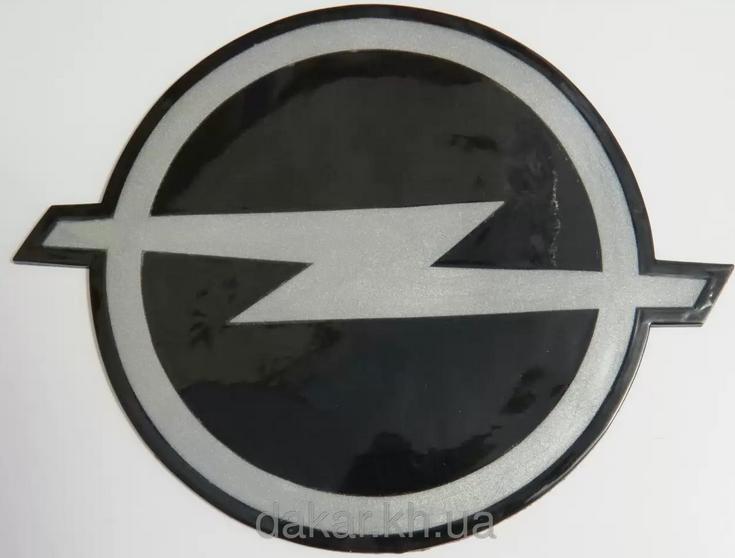 Антискользящий силиконовый коврик на торпедо с логотипом Opel
