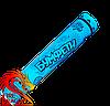 Пневмохлопушка блакитне конфетті, довжина хлопавки: 30 сантиметрів, начинка: блакитне паперове конфеті