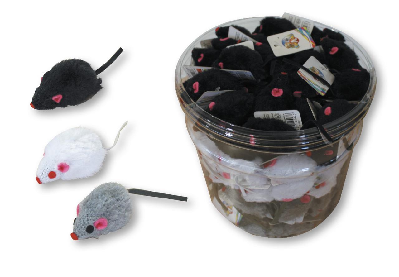 Игрушка для котов CROCI. Мышь маленькая 5 см
