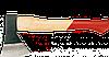 Топор 800г, с деревянной рукояткой TOPEX (05A138)