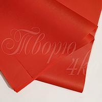 Тишью папиросная бумага алая 50 х 70см