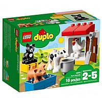 Конструктор Duplo Town Животные на ферме LEGO (10870)