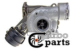 Оригинальная турбина Skoda Superb I 1.9 TDI от 2001 г.в. - 717858-0002, 717858-0003, 717858-0004