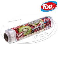 Пленка пищевая для продуктов 29 см/500 метров 7 мкм (POL) Top Pack