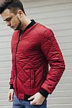 Демисезонная красная  куртка, фото 3