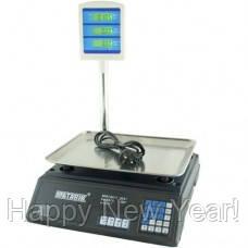 Весы торговые со стойкой MATARIX MX-411