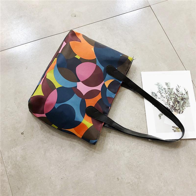 Містка яскрава сумка, жіноча різнобарвна сумка шоппер, CC-3587-00