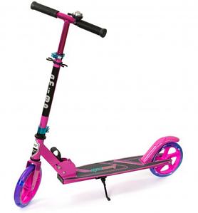 Детский  двухколесный  самокат Explore Quest Розовый для девочек
