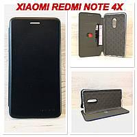 Чехол-книжка G-Case для Xiaomi Redmi note 4x (Черный)