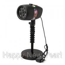 Лазерный проектор Star Shower Slide Show 12 слайдов Black