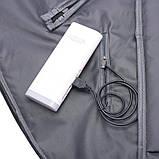 Рюкзак городской UNO c выходом для USB и наушников Black, фото 7