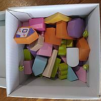 "Конструктор деревянный ""Містечко для дівчаток"" 13906 Cubica Украина"