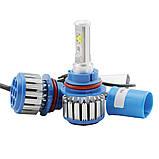 Комплект LED ламп для авто Ближний/Дальний TurboLED T1 H11, светодиодные лампы в авто, передний свет, фото 4