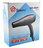 Фен для волос Domotec MS-0804 2000W Black, фото 7