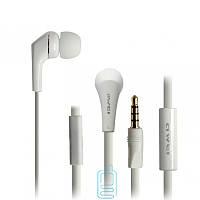 Наушники гарнитура вакуумные Awei ES-Q7i Белый оригинальный дизайн
