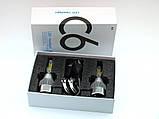 Комплект LED ламп для авто Ближний/Дальний Headlight С6 H4, светодиодные лампы в авто, передний свет, фото 4