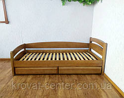 """Детская кровать из массива дерева с ящиками от производителя """"Марта"""" (светлый дуб), фото 3"""
