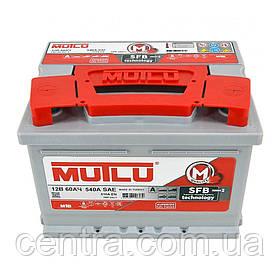 Автомобильный аккумулятор MUTLU 6СТ-60 L2.60.051.A