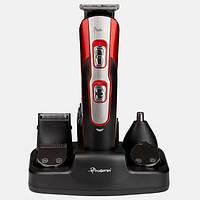 Машинка для стрижки волос и бороды Gemei 10в1 | Триммер и машинка для мужчин
