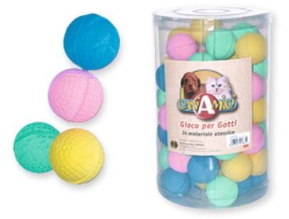 Игрушка для кот. CROCI Мяч зефир., Д=5см, 60шт/уп (цена за 1шт)