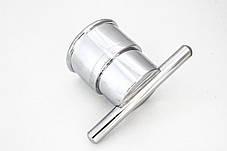 Ручка для душевой кабины ( H-02 ) Хромированная, пластиковая ., фото 2