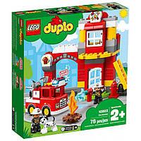 Конструктор LEGO DUPLO Пожарное депо 76 деталей (10903)