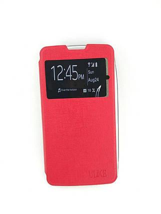 Чехол-книжка Flip Cover Samsung J110 (J1 Ace) Red, фото 2