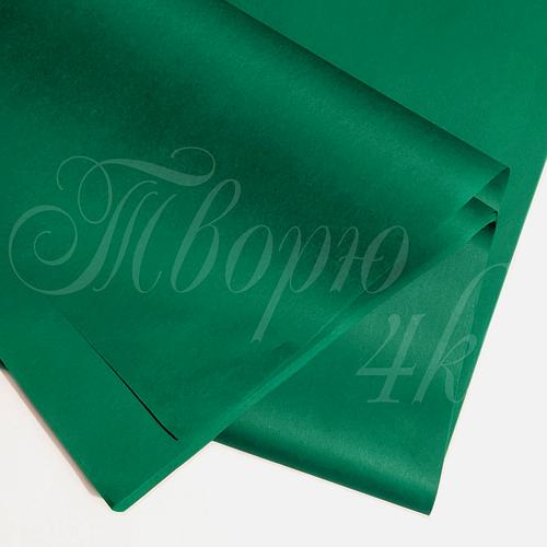 Тишью бумага упаковочная изумруд 50 х 70см (100 листов)